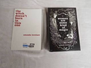 2  book s by Amanda lovelace