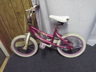 Girl s 16  huffy princess bike