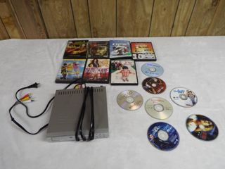 lot with dvd player and dvd movie s