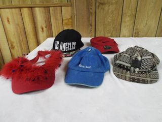 lot of various hat s