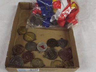 lot of various sport s medal s