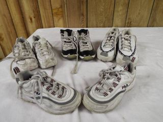 lot of various kid shoe s and size s