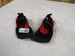 1  pair of boy s water shoe s  size 13 1