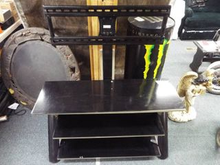 Metal TV stand with mount  47  T  44  W  20  D