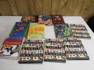 lot of various type s of book s