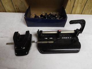 lot with whole puncher s and clip s