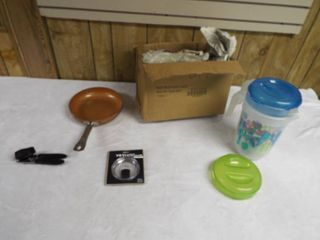 lot of dishes and cooking dishware