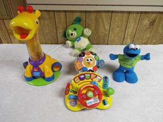 lot of various kid s learning toy s
