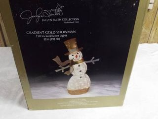 Jacelyn smith collection  Gradient gold snowman  52