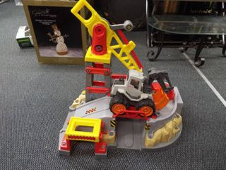 Kid s large construction toy with little tikes construction truck