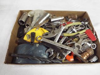 lot with various wrenches  irwin straight line  craftsman sockets  allen wrenches and more