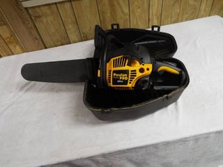 Poulan pro 42cc chainsaw PP4218A  in case