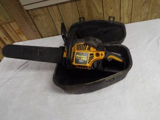 Poulan pro 35cc chainsaw PP3516AVX  in case
