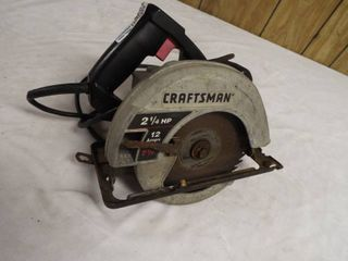 Craftsman saw 2 1 4  7 1 4hp