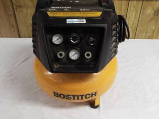 Bostitch 150 psi 6 gallon 2 6 scfm compressor