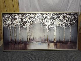 Wall canvas decor  30  T  60  W