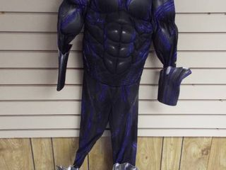 Kid s medium black panther costume