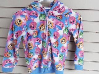 Girl s shopkin sweater  size S  6 6x