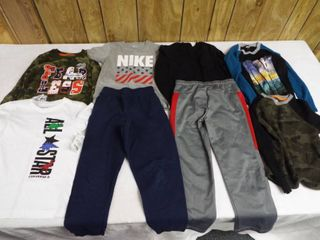 lot of boy clothes  sizes 6 7 to 7