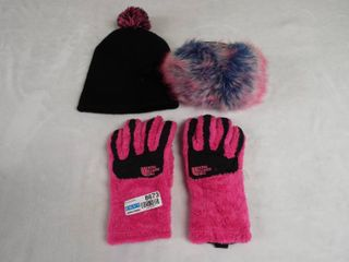 Women s winter hat  glove s and ear muff s