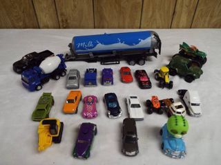 lot of various toy car s