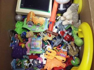 lot of various toy s