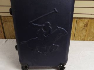 Beverly hills polo club hard case suitcase on wheel s