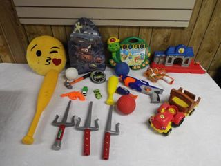 lot of kid s toy s  container not included