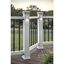 Trex 4 in x 4 in White Composite Deck Post Sleeve RETAIl  34 98