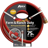 NeverKink Contractor 3 4 in x 50 ft Contractor Duty Kink Free Vinyl Red Coiled Hose RETAIl  35 63