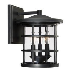 Quoizel Asheville 12 625 in H Dark Oil Rubbed Bronze Outdoor Wall light RETAIl 74 98