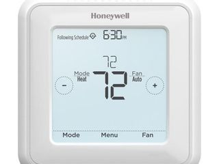 Honeywell Home RTH8560D 7 Day Programmable Touchscreen Thermostat RETAIl  89 00