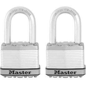 Master lock 1 228 in Key Padlock RETAIl 19 98