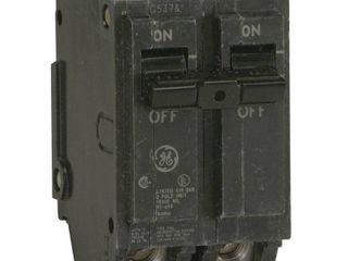 GENERAl ElECTRIC Circuit Breaker 50A 2P 10kA 120 240VAC THQl2150 RETAIl 9 55
