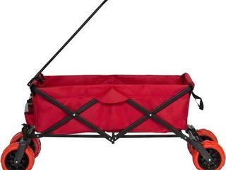 Beach Wagon Collapsible Folding Utility Garden Buggy Cart  All terrain