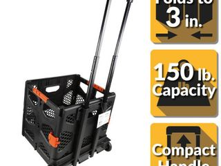 Olympia Tools 85 015 Grand Pack n Roll Portable Folding Storage Dolly w  Wheels