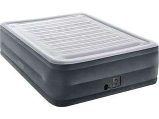 Intex 22  Queen Comfort Plush High Rise DuraBeam Air Bed with Built In Pump
