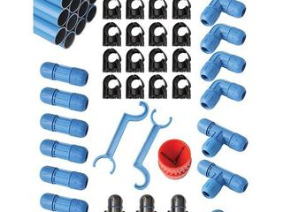 Rapid Air F28070 3 4 In Fastpipe 90 Ft Compressed Air Piping System Master Kit