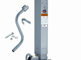 Square Trailer Jack 1400980376 Weld On Square Tube Sidewind 12 5  Travel  ITEM MAY VARY SlIGHTlY FROM STOCK PHOTO