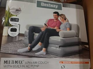 Bestway inflatable sofa bed multi Max Air couch