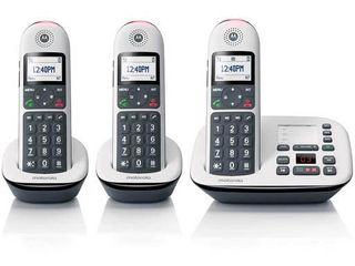 Motorola Cd5013 Dect 6 0 3 handset Digital Cordless Phone With Answering Machine