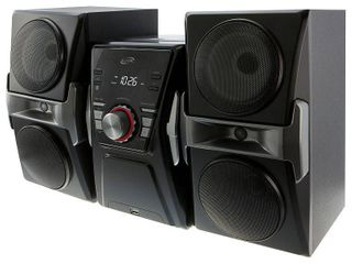 ilive Bluetooth CD Home Music System with FM Tuner   lED lights