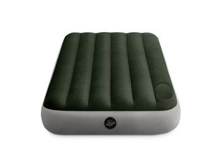 Intex Dura Beam Standard Series Downy Airbed with Built In Foot Pump  Twin Size