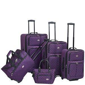 American Flyer 4 pc luggage Set