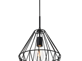 Candor 1 light black Pendant  Retail 88 20