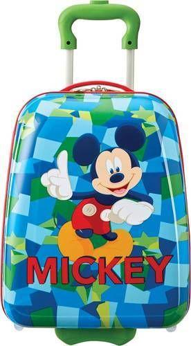 American Tourister   Disney Kids 18  Hardside Upright Suitcase   Mickey Mouse