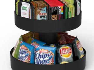 Mind Reader Breakroom Snack Carousel