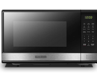 Black and Decker 1000W Microwave Oven 120V 60Hz