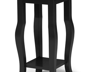 lillian Tea 12  x 12    Black   Table