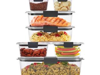RubberMaid 14 Piece Kitchen Storage Containers